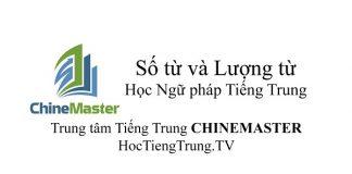 Ngữ pháp Tiếng Trung về Số từ và lượng từ