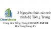 3 nguyên nhân cản trở trình độ Tiếng Trung