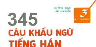 345 Câu khẩu ngữ Tiếng Hán Tập 3