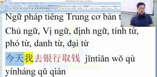 luyện dịch tiếng trung bài 9