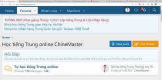 Giáo trình bài tập luyện dịch tiếng Trung ứng dụng Phần 1 - Download bộ gõ tiếng Trung sogou pinyin - Khóa học luyện dịch tiếng Trung Thầy Vũ ChineMaster