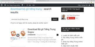 Giáo trình luyện dịch tiếng Trung mỗi ngày Bài 7 - Download bộ gõ tiếng Trung sogou pinyin - tài liệu luyện dịch tiếng Trung - giáo trình luyện dịch tiếng Trung Thầy Vũ ChineMaster
