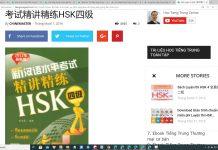Download Sách luyện thi HSK 4 PDF MP3 Tinh Giảng - Giáo trình luyện thi HSK 4 online - Website thi thử HSK online uy tín miễn phí Thầy Vũ - Tài liệu luyện thi HSK 4 rất nhiều bộ đề thi thử HSK online ChineMaster