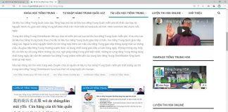 Giáo trình bài tập luyện dịch tiếng Trung ứng dụng Phần 4 - Tải bộ gõ tiếng Trung - Bài tập luyện tập kỹ năng đọc hiểu tiếng Trung ứng dụng thực tế Thầy Vũ ChineMaster