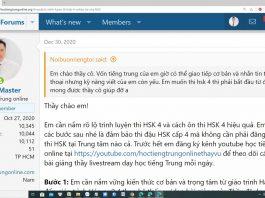 Giáo trình bài tập luyện dịch tiếng Trung ứng dụng Phần 5 - Tài liệu luyện dịch tiếng Trung HSK mới nhất Thầy Vũ ChineMaster