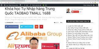 Khóa học nhập hàng Trung Quốc tận gốc từ A - Z - Khóa học nhập hàng Trung Quốc Taobao 1688 Tmall - Khóa học Order hàng Quảng Châu - Khóa học mua hàng Taobao Tmall 1688 - BÍ KÍP nhập hàng Trung Quốc tận gốc - Hướng dẫn nhập hàng từ Taobao, Tmall và 1688