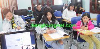 Câu lạc bộ tiếng Trung Hà Nội CAFECHON - CLB tiếng Trung Hà Nội CafeChon Thầy Vũ