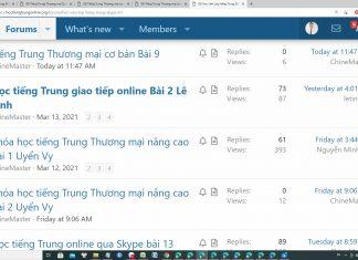Khóa học tiếng Trung Thương mại online Thầy Vũ - Khóa học tiếng Trung thương mại online cơ bản - Khóa học tiếng trung thương mại online nâng cao - Khóa học tiếng Trung thương mại trực tuyến ChineMaster