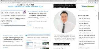 Giáo trình tiếng Trung thương mại Bài 1 - Khóa học tiếng Trung thương mại cơ bản - Lớp học tiếng Trung thương mại online - Giáo trình tiếng Trung thương mại ChineMaster Thầy Vũ