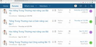 Giáo trình tiếng Trung thương mại Bài 5 - Giáo trình tiếng Trung thương mại ChineMaster - Sách tiếng Trung thương mại - Tài liệu tiếng Trung thương mại - Khóa học tiếng Trung thương mại