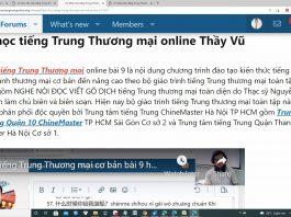Giáo trình tiếng Trung thương mại Bài 9 - Giáo trình tiếng Trung thương mại ChineMaster - Khóa học tiếng Trung thương mại online - Lớp học tiếng Trung thương mại trực tuyến - Tài liệu tiếng Trung thương mại miễn phí